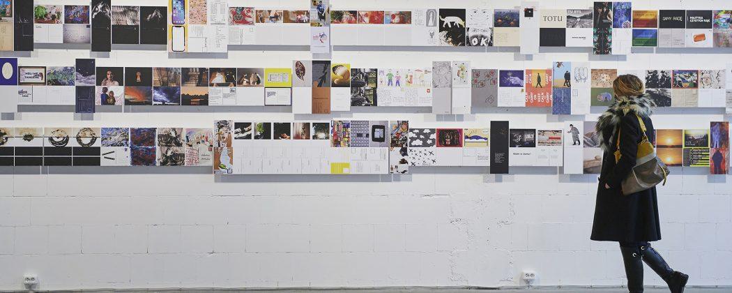 Otwarcie wystawy Postcard form home/Pocztówka z domu w galerii Salon Akademii Koneser 13/02/2021 fot. Adam Gut