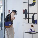 Otwarcie wystawy Czym się zajmujesz? vol. 4, Któraodbyła się wgalerii Salon Akademii Koneser dnia 19 czerwca 2021. Fot.: Adam Gut.